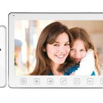Videointerfon 9 inci cu control acces si intercomunicatie si RFID